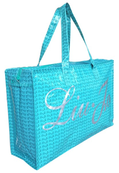 Shopping bag with zipper LIU-JO