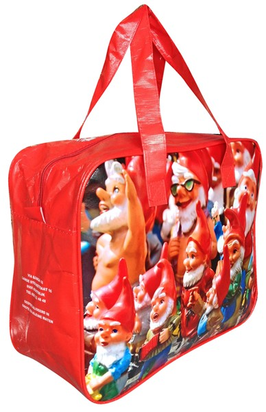 Shopping Bag with zipper_GNOMI_TNT